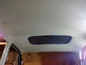 жесткий потолок своими руками нива 21214
